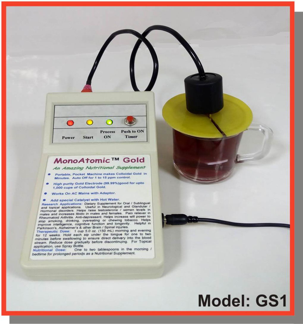 Colloidal Gold Generator Model GS1